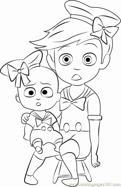 Boss Baby Coloring Page Fresh The Boss Baby Coloring Pages At Getcolorings Baby Coloring Pages Superhero Coloring Pages Race Car Coloring Pages