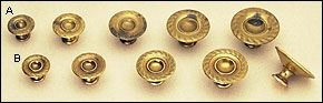Rope/Reed Hollow Knobs - Hardware
