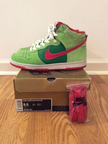 "Nike SB Dunk High ""Dr. Feelgood"" 305050 362 - Size 9.5 https://t.co/QwPWsHreAW https://t.co/XZ9tShqTFC"