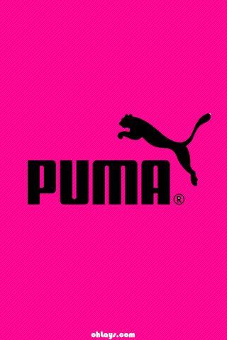 ピンクのPUMA 壁紙