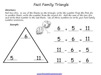 17 subtraction facts to 18 on pinterest fact families math worksheets ...