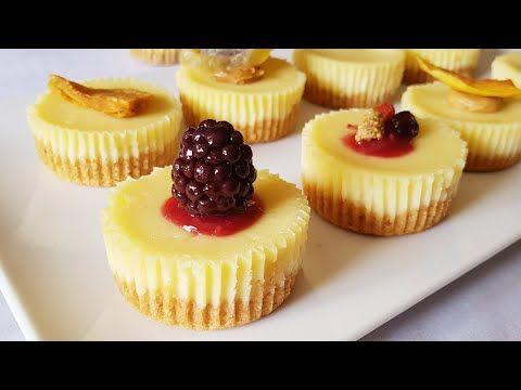 لو عندك بسكويت باقى من العيد تعالى نعمل مينى تشيز كيك مخبوزة وبدون تكاليف Youtube Mini Cakes Cheesecake Food