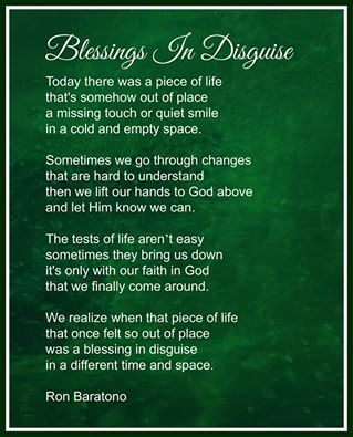 challenges blessings in disguise We've all experienced minor or major challenges or even really dark and lonely  times filled with sadness, despair, anger, and sorrow in a blessing in disguise .