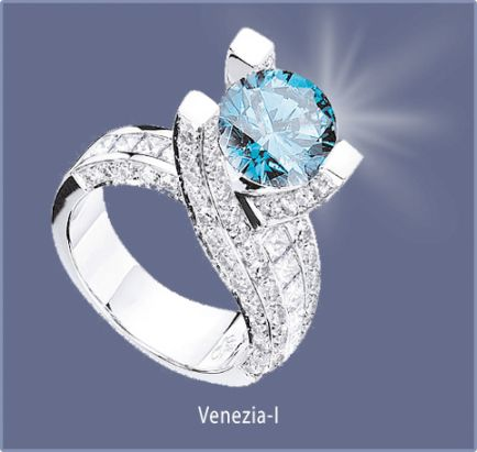 Sophia Fiori Blue Diamond 93