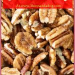 This is my grandmother's recipe. She has 10 acres of Pecan Trees, but when I was growing up they had over 50 acres…. consequently, I have quite a few pecan recipes. HA! However, the roasted pecans recipe has been passed down for generations. My great-grandmother could make them over the fire and my mother makes […]