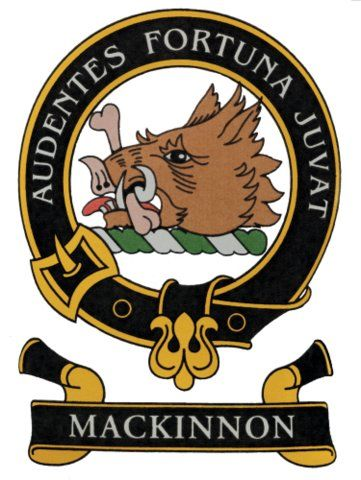 Color crest for clan mackinnon tattoo pinterest the for Family motto tattoos