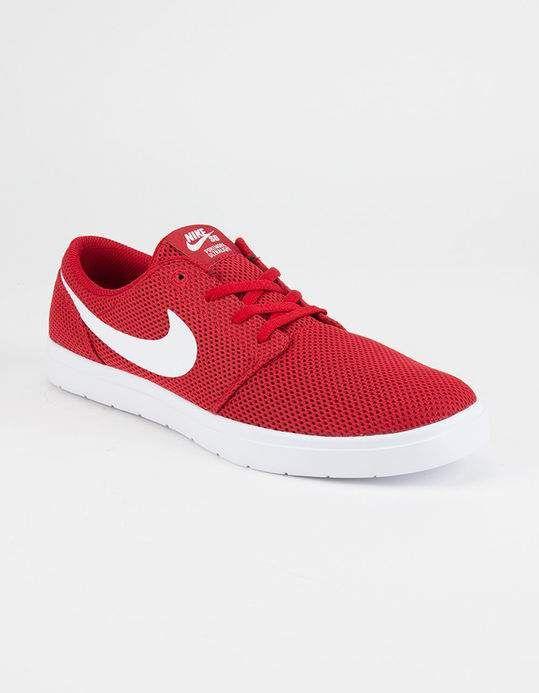 NIKE SB Portmore II Ultralight Shoes - RED - 296263300 | Nike sb ...