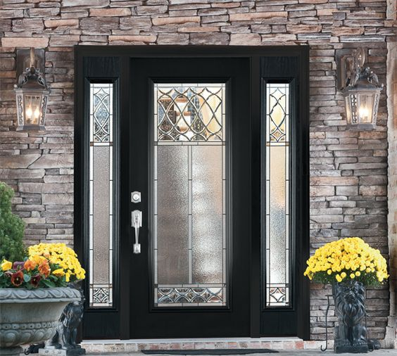 maxima door with sidelites and transom scaled see the source image - Patio Doors French