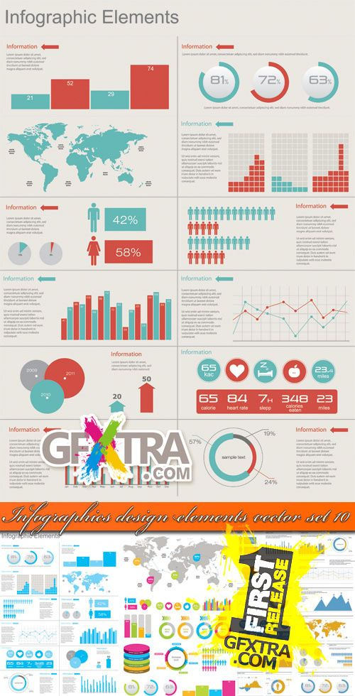 Ultimate Collection of Free Vector Elements For Infographics Design-9