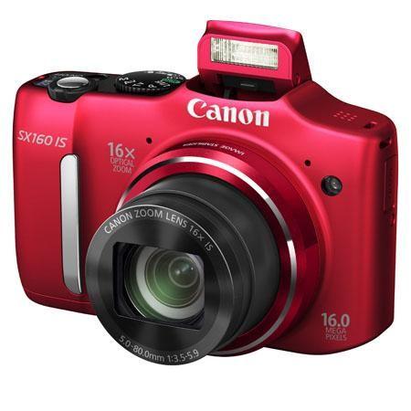 New! Canon Powershot SX 160 - red