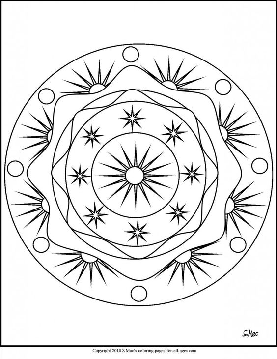 Mandala coloring pages Coloring pages for adults and