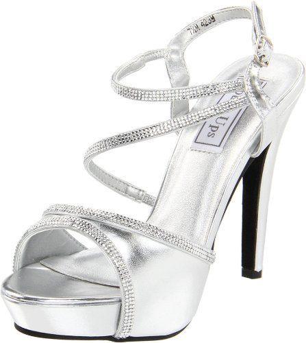 Touch Ups Women's Allie Manmade Platform Sandal,Silver,8 M US Touch Ups, http://www.amazon.com/dp/B00601LDO0/ref=cm_sw_r_pi_dp_mi6Wqb11VTW0P