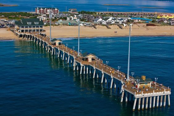 Jennette's Pier Nags Head, NC OBX Sites http://www.elanvacations.com/