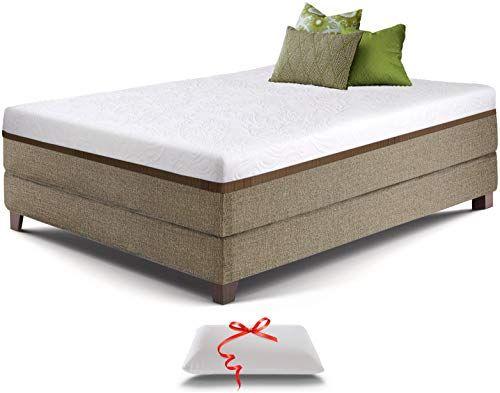 New Live Sleep Ultra Queen Mattress Gel Memory Foam Mattress 12 Inch Cool Bed Box Medium Firm Advanced Support Bonus Luxury Pillow Certipur Certifie In 2020 Twin Mattress Size Foam Mattress Mattress