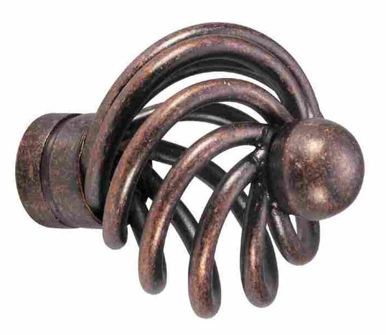 Button Basket Knob 121