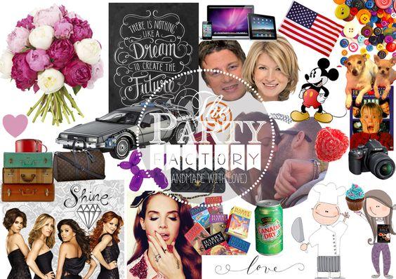 collage creativo di una vita incasinata