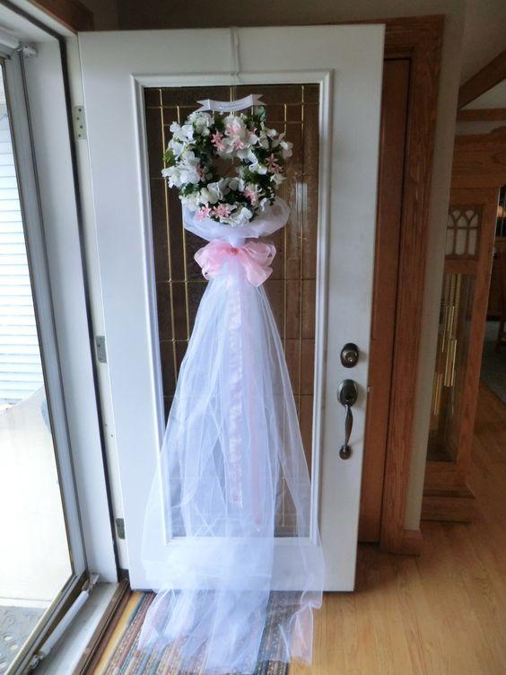 Bridal Shower Door Decoration Craft Ideas Pinterest Shower Doors And Showers