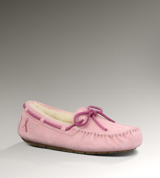 UGG Dakota Cancer Awareness for Women - Breast Cancer Awareness Slippers