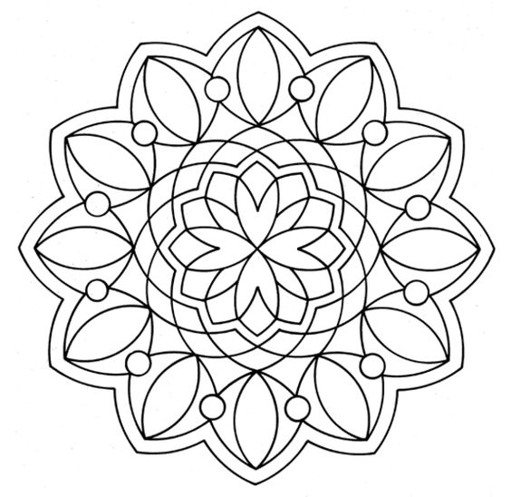 Easy Adult Coloring Pages Pictures to Pin on Pinterest ...