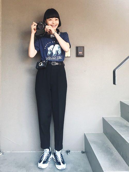 円山動物園で購入のTシャツを着たkanoco