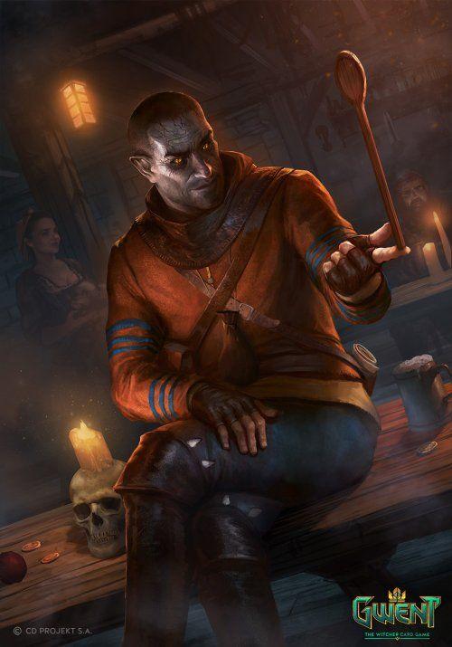 As Ilustracoes De Fantasia Para O Jogo Gwent The Witcher Card Game De Nemanja Stankovic O Mago Fantasias Personagens The Witcher 3