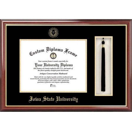 Iowa State University 8.5 inch x 11 inch Tassel Box and Diploma Frame