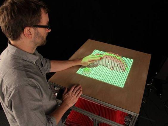 El #MIT y sus maravillosos inventos: Superficie que recrea objetos en 3D y en tiempo real... No dejes de compartirlo, vale la pena verlo:http://es.gizmodo.com/esta-superficie-del-mit-puede-recrearte-en-3d-y-en-tiem-1458672600/1463329440