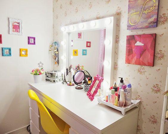 Nuwem.com | Blog de Fortaleza | Ellen Medeiros - – Minha penteadeira camarim nova! :D: