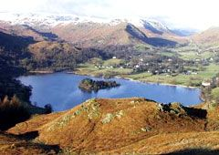 Grasmere in the English Lake District. Visited in 1988 & hope to return some day.