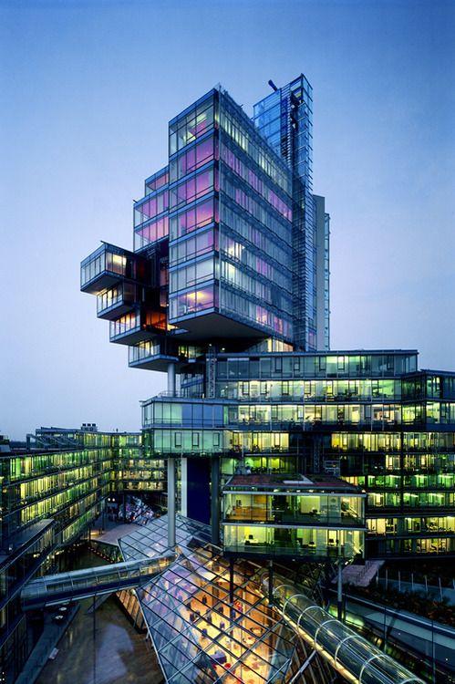Norddeutsche Landesbank am Friedrichswall, Hannover, Germany   Behnisch Architekten