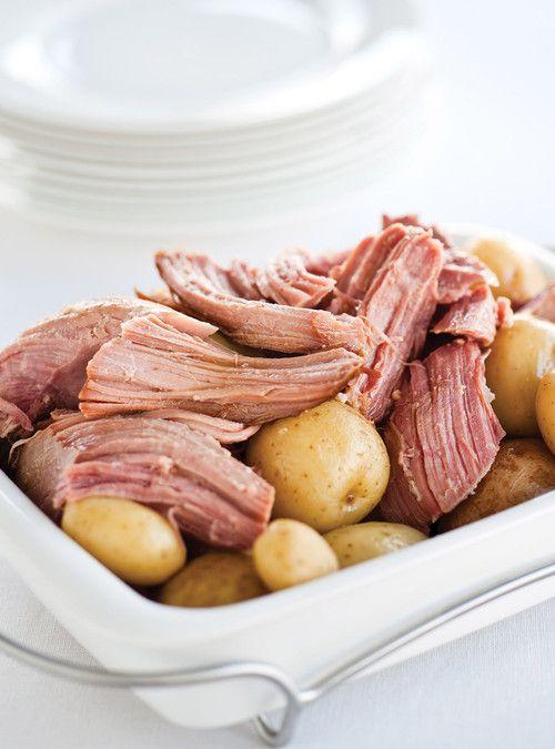 Jambon la bi re la mijoteuse recettes ricardo - Ricardo cuisine mijoteuse ...