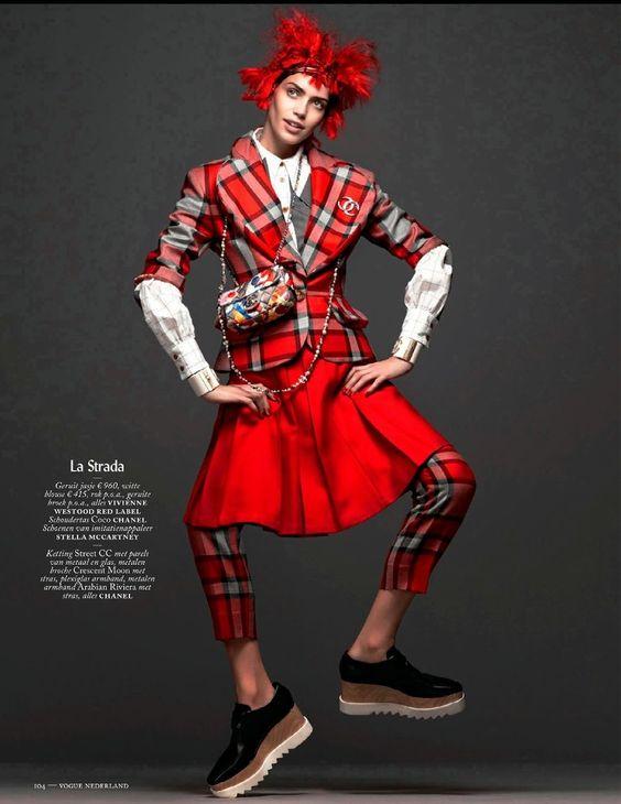 Vogue Netherlands December 2014 | Amanda Wellsh by Ishi [Editorial]