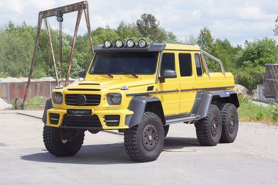 Mansory Gronos 6×6 | Truck & Off Road & 4x4 | Pinterest