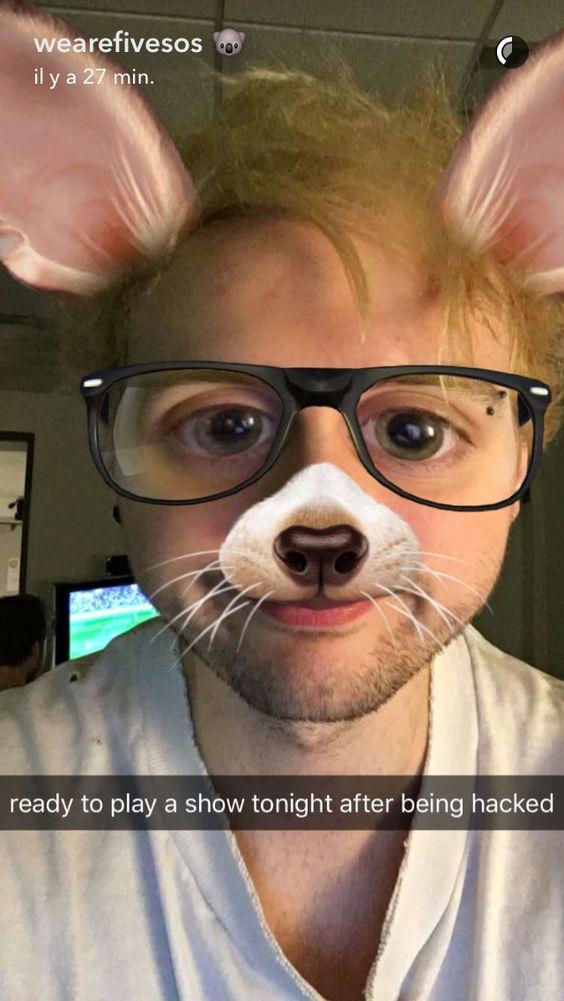 Snapchat: Michael Clifford
