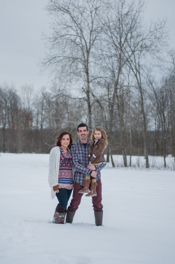 winter photography, winter family session, country winter, snow