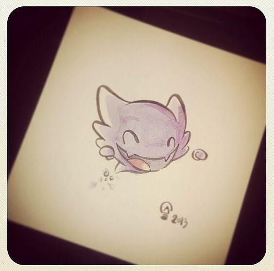 Chibi Pokemon Originals - Haunter