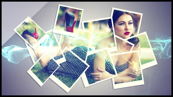 Creative A Collage Effect
