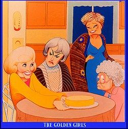 golden girls cartoon