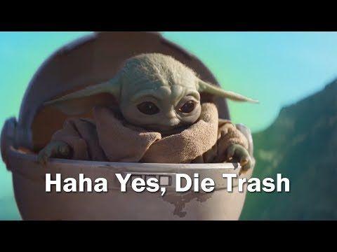 Baby Yoda But With Subtitles Youtube Yoda Meme Star Wars Memes Star Wars Humor