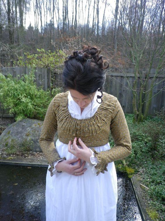 Kleidung um 1800: 1800s MET Spencer (Jacket)