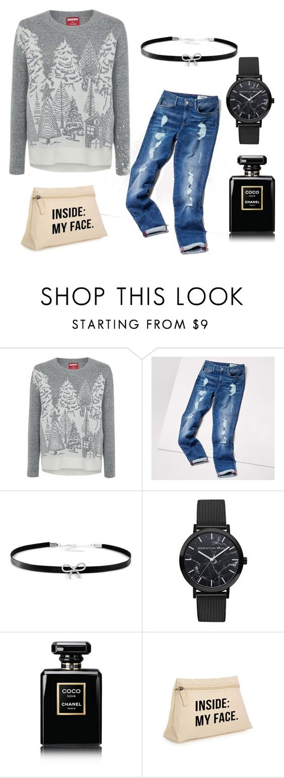 """""""New FasHion"""" by arnes-zabic ❤ liked on Polyvore featuring George, Tommy Hilfiger, Giani Bernini and Chanel"""