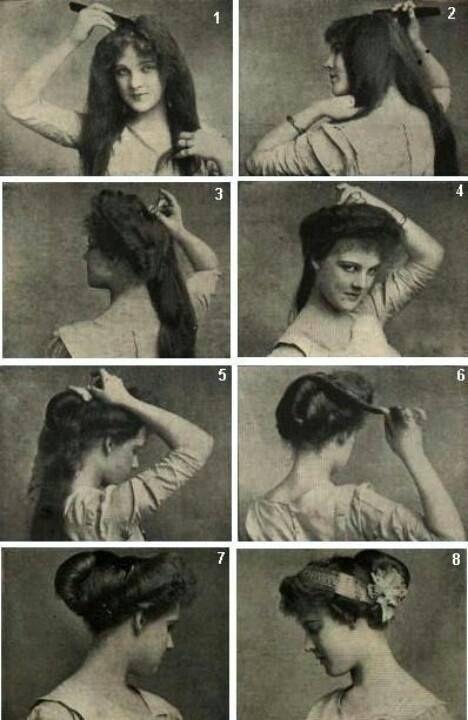 Victorian hair tips