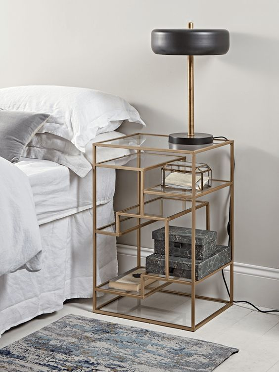 10 Astonishing Side Tables For Bedroom Inspirations Modern