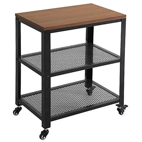 Most People Reviews Speak That The Vlush Industrial Kitchen Serving Cart 3 Tier Rolling Utility C In 2020 Butcher Block Kitchen Cart Origami Kitchen Cart Kitchen Cart