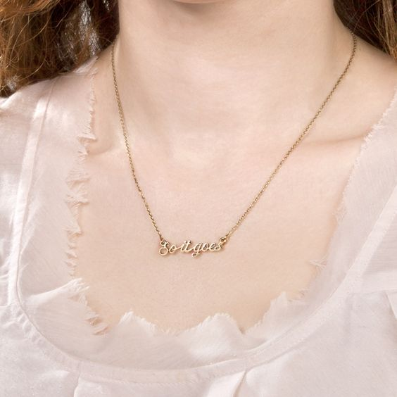 """""""So it goes"""" Slaughterhouse-Five Necklace 