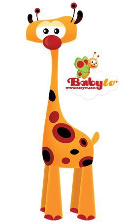 Baby Tv Giraffe Buscar Con Google COMICS Pinterest