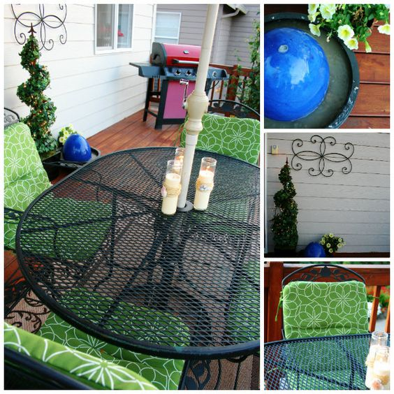 Decorate your patio - DIY fountain from @Kim Demmon (today's creative blog) #lowescreator