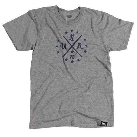 USA '76 T-shirt - Crew Neck – Stately Type
