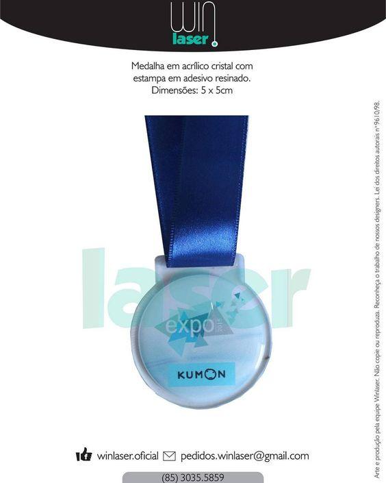 Medalha personalizada em acrílico cortada a laser. Venha fazer com a gente sua medalha personalizada! Fazemos do jeitinho que você quiser!  #winlaser #medalhas #medalha #personalizados #personalize #acrylic #acrilico #mdf #cortealaser #lasercut #gravacaoalaser #resina #premiacao #homenagem #competição #escola #cursinho #kumon by winlaser.oficial