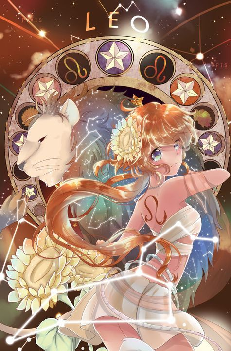 Anime Zodiac Signs Girl Anime Zodiacs Anime Zodiac Anime Art Girl Anime